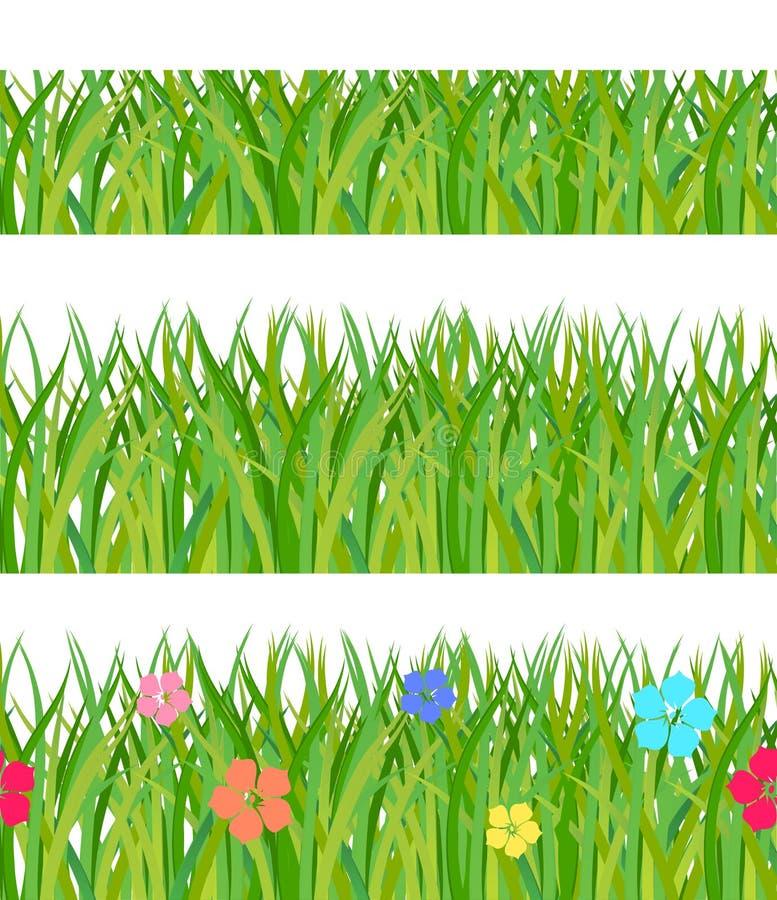 收集草绿色 向量例证