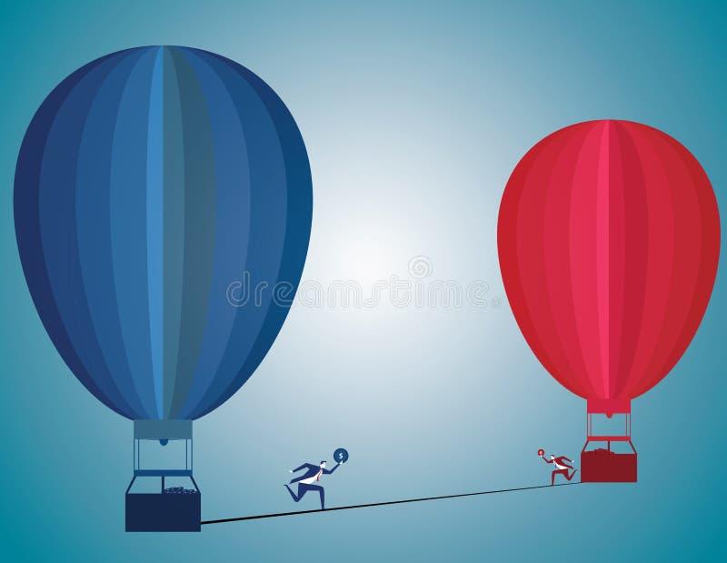 改变挑战并且警告企业诱导概念作为pe 向量例证