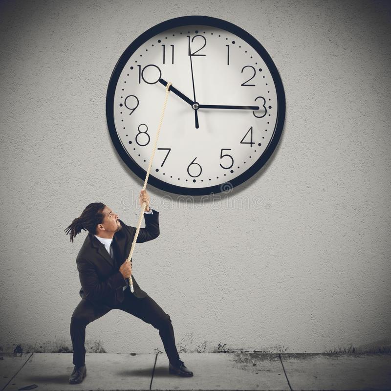 改变时间 免版税图库摄影