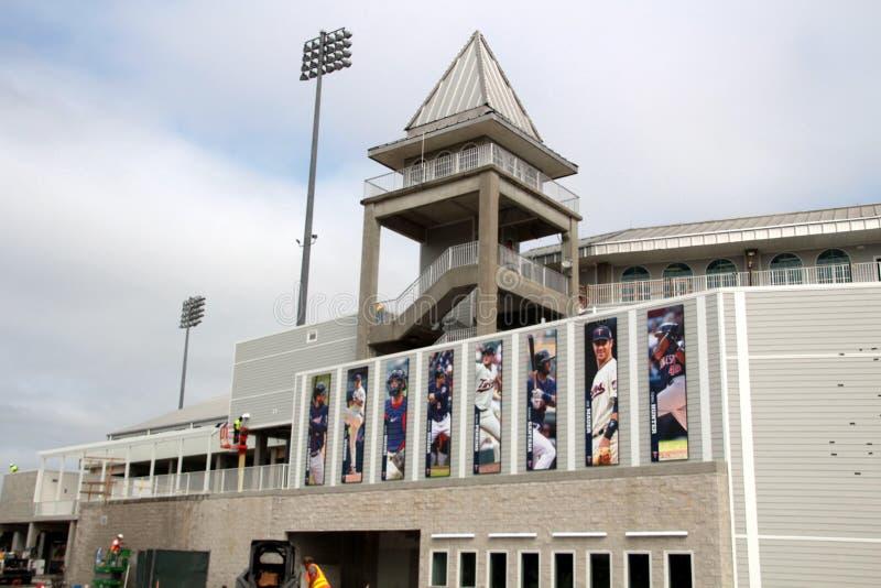 改造Hammond体育场 库存照片