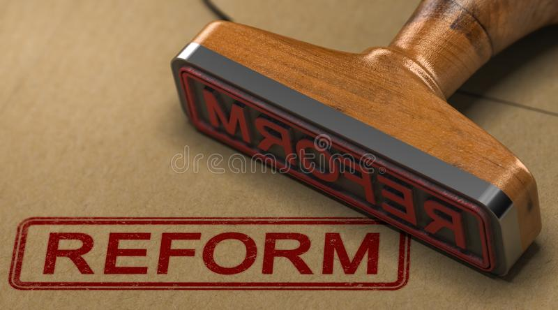 改革 法律改善 皇族释放例证