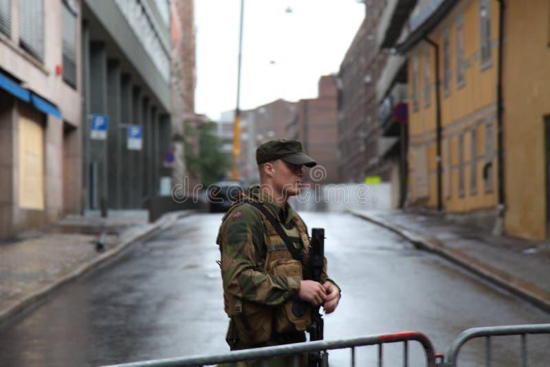 攻击挪威 免版税库存图片