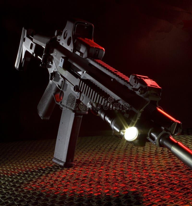 攻击新的步枪 库存图片