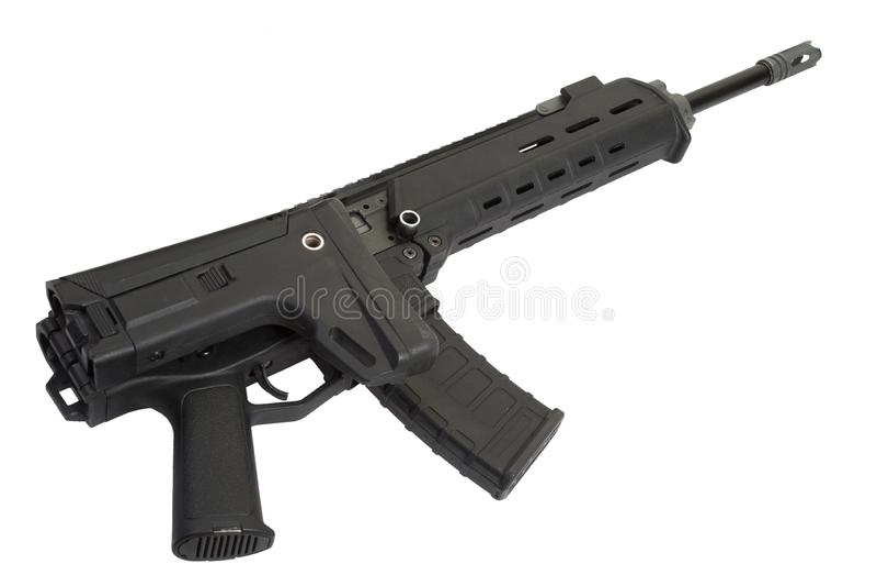 攻击现代步枪 免版税库存图片