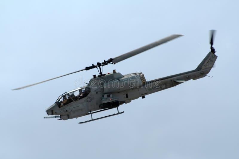 攻击用直升机海军陆战队员我们 免版税图库摄影