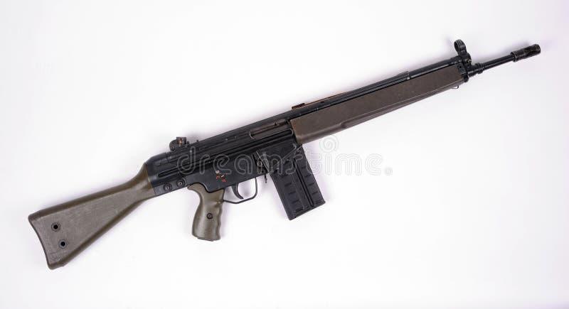 攻击g3德国人步枪 免版税图库摄影