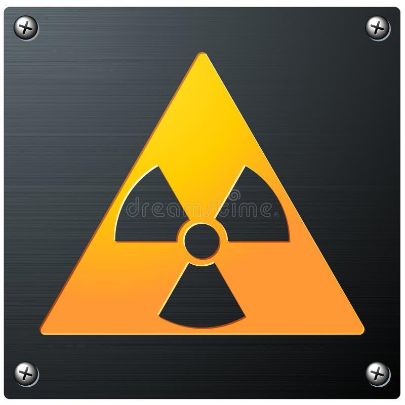 放射性符号 向量例证