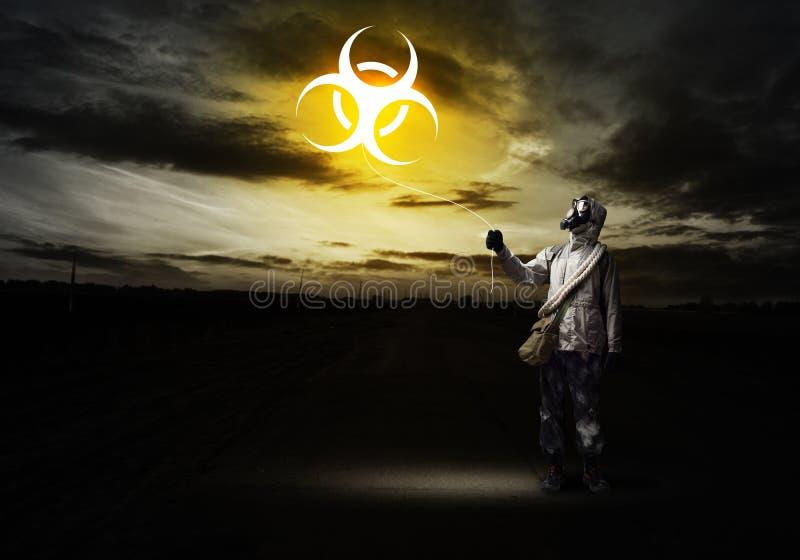 放射线浩劫 库存照片