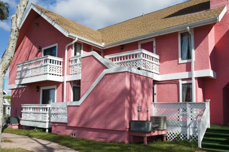 放弃公寓房粉红色 库存图片