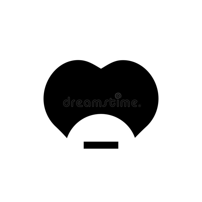 放弃象象传染媒介标志的一个社交,并且在白色背景隔绝的标志,放弃了象商标概念的一个社交 向量例证