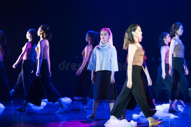 放弃面具3--舞蹈戏曲驴得到wate 免版税图库摄影