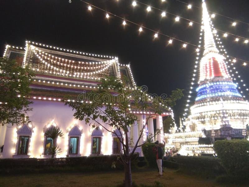放松在Pha Samutjedi Samutprakan泰国i爱泰国i爱phasamutjedi的时间 免版税图库摄影