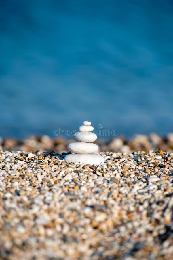 放松疗法精神自然景观海沙 库存图片
