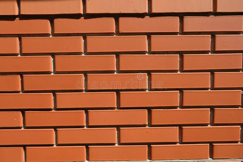 放置与水泥的建筑和修理工作红砖 库存照片