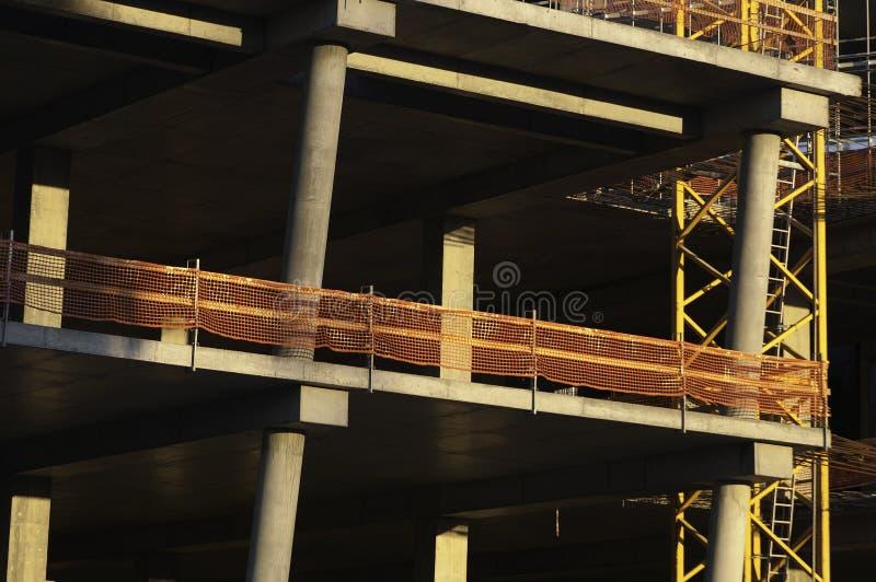 放置户外站点的砖建筑 图库摄影
