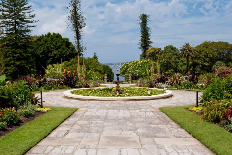 政府之家庭院,植物园, S 图库摄影