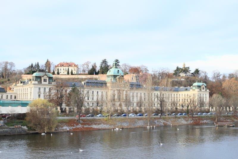 政府在布拉格 免版税库存图片