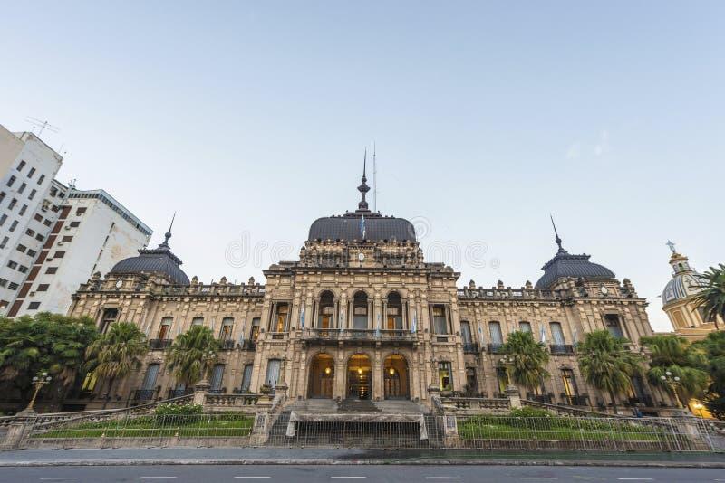 政府宫殿在土库曼,阿根廷。 库存照片