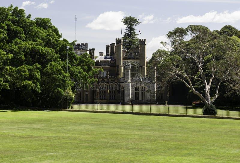 政府或州长议院悉尼 免版税图库摄影