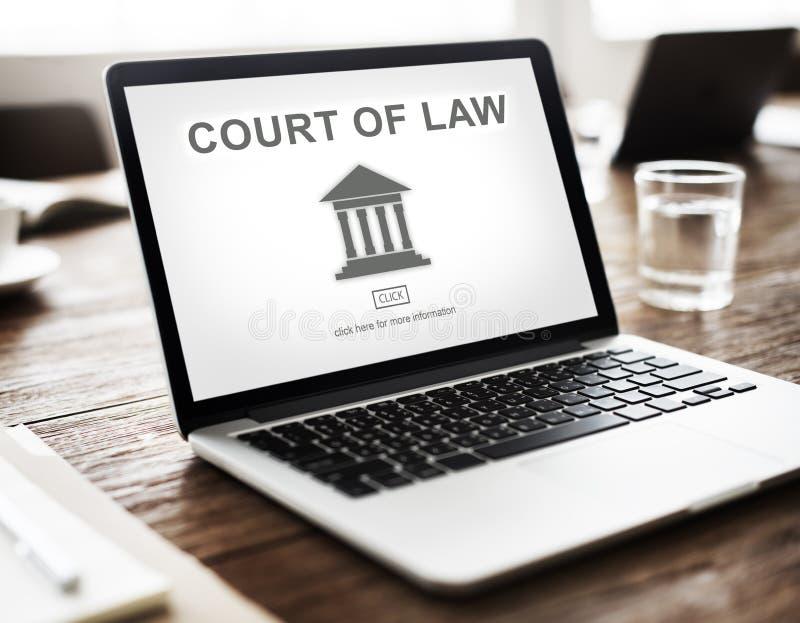 政府法律柱子图表 库存照片
