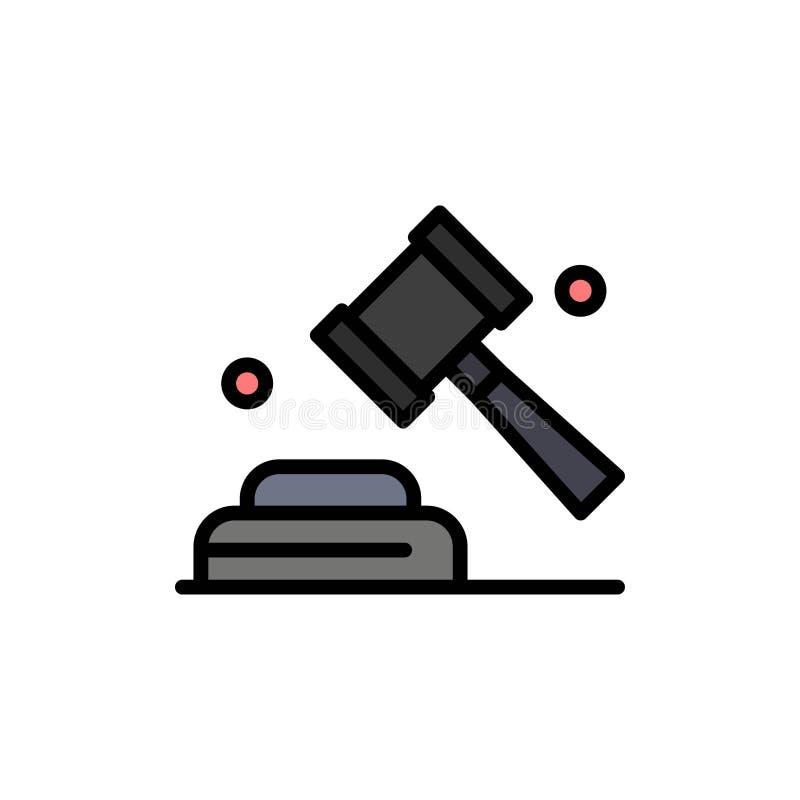 政治,法律,竞选,表决平的颜色象 传染媒介象横幅模板 皇族释放例证