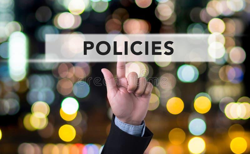 政策概念 免版税库存照片