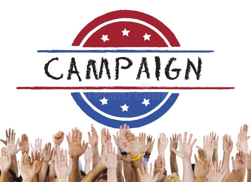 政治政府公民投票民主表决概念 向量例证