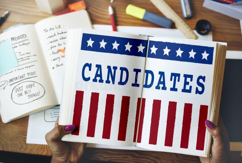 政治政府公民投票民主表决概念 免版税库存图片