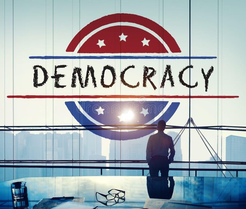 政治政府公民投票民主表决概念 免版税图库摄影