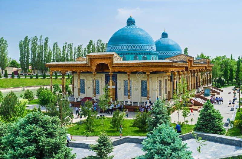 政治迫害的受害者博物馆在塔什干 免版税库存照片