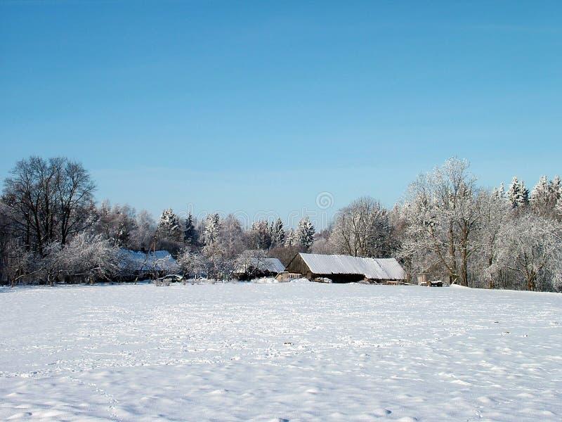 故事冬天 库存图片
