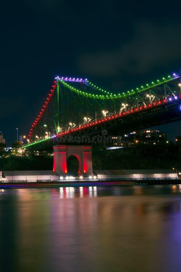 故事桥梁在布里斯班,昆士兰 库存图片