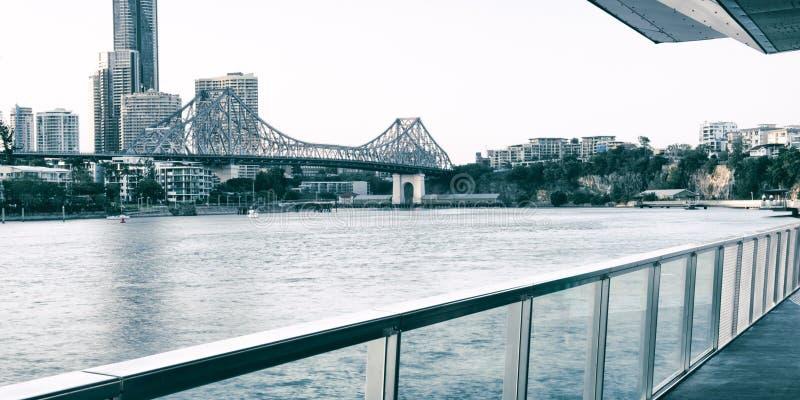 故事桥梁在布里斯班 免版税库存照片