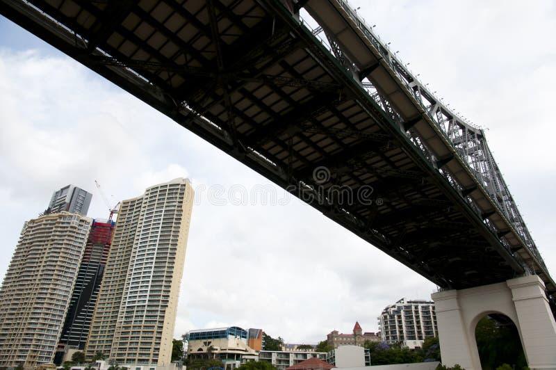 故事桥梁-布里斯班-澳大利亚 库存图片