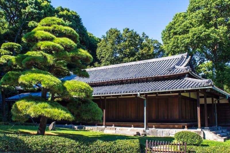 故宫东部庭院在东京,日本 图库摄影
