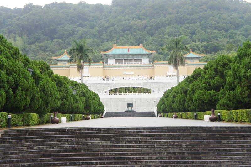 故宫博物院的前面部分 库存图片