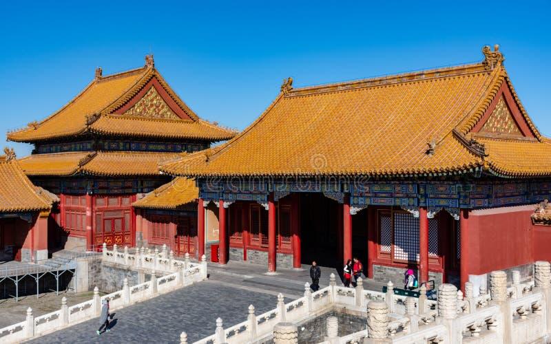 故宫博物院的角落 图库摄影