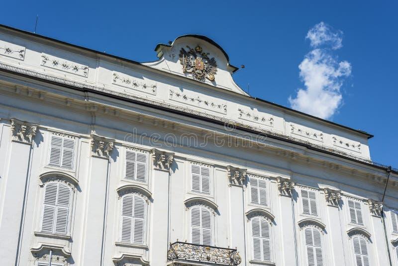 故宫在因斯布鲁克,奥地利。 免版税库存照片