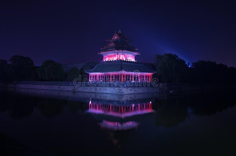故宫城楼 免版税库存图片