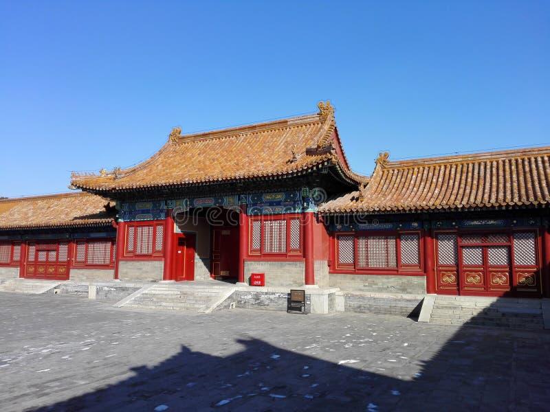 故宫大厦在中国 免版税库存图片