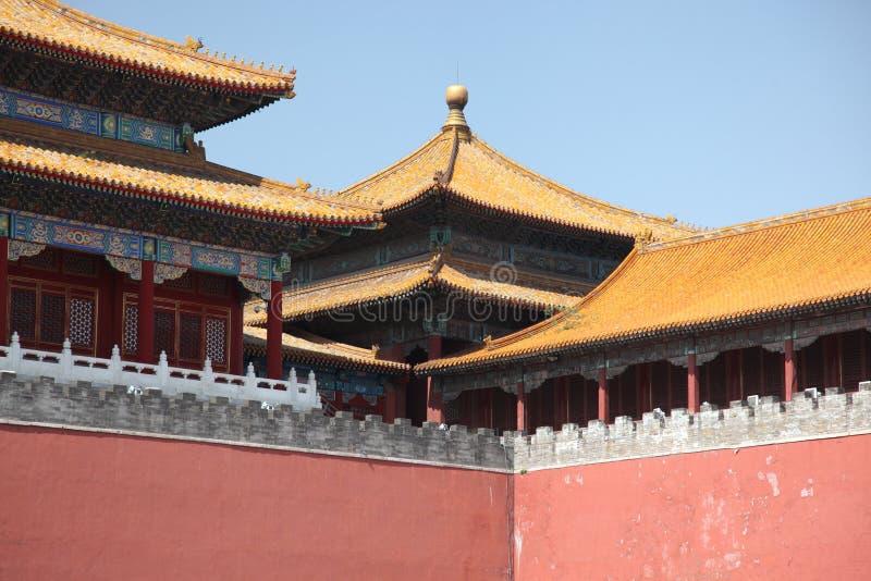 故宫联合国北京,中国 免版税库存图片