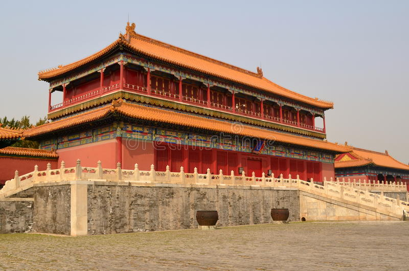 故宫,北京,中国 库存图片