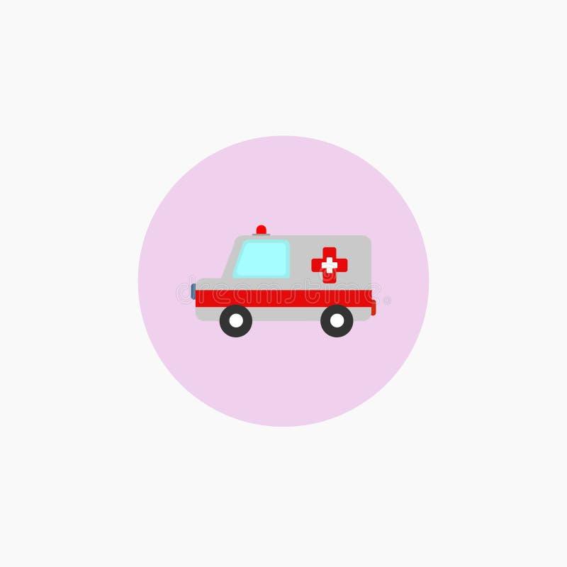 救护车汽车,医疗象 r 10 eps 向量例证