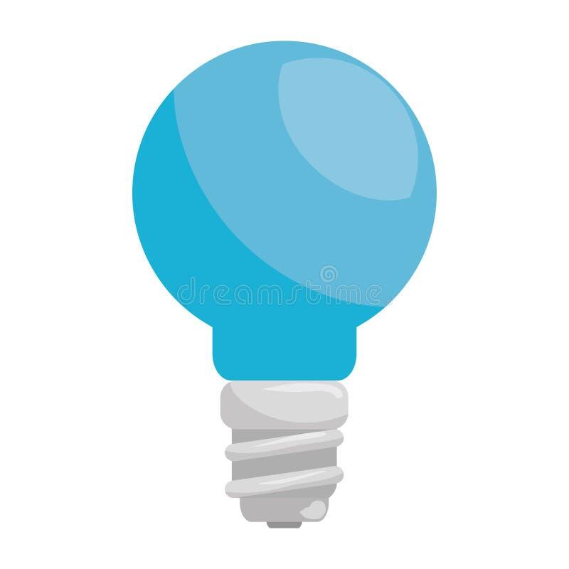 救星电灯泡能量象 向量例证