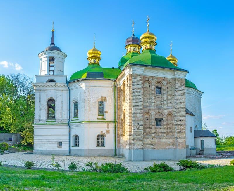 救主的教会Berestove的 库存照片
