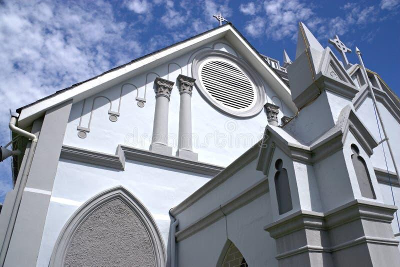 教会乔治卫理公会派的城镇wesley 免版税库存图片