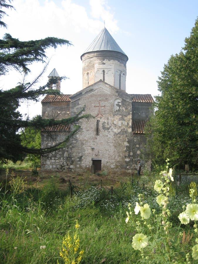 教会佐治亚 图库摄影