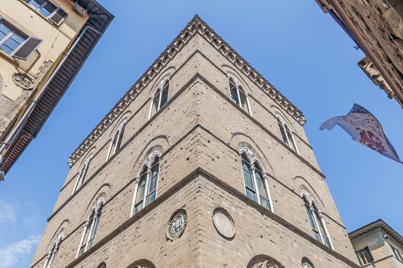 教会佛罗伦萨意大利orsanmichele 库存照片