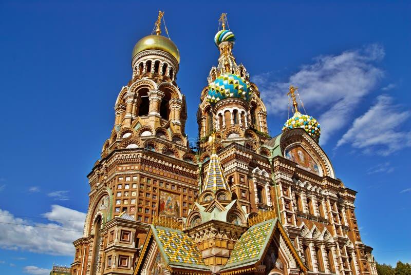 教会俄语 库存照片
