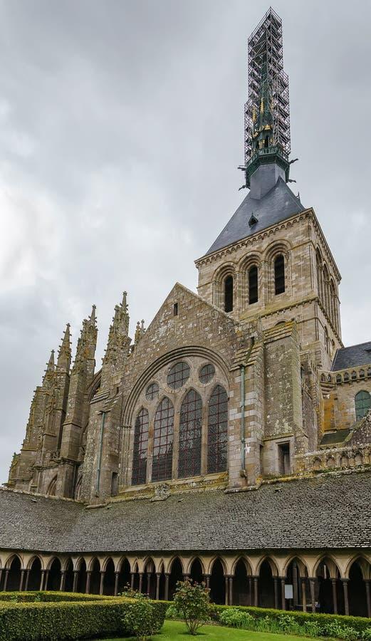 教会修道院圣米歇尔,法国 免版税库存图片